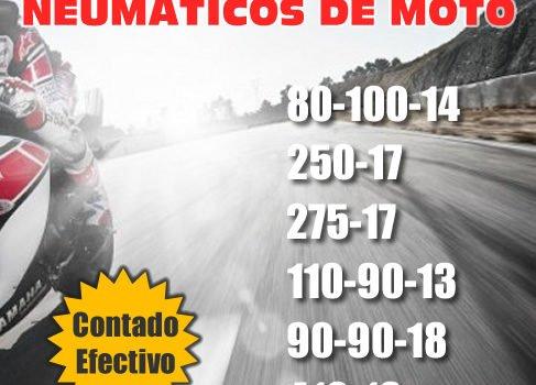 Oferta neumaticos para moto
