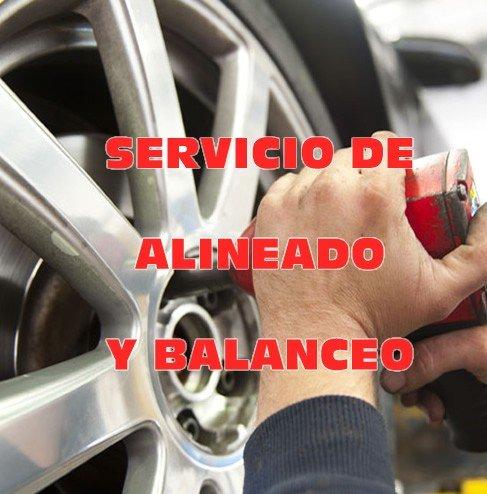 Servicio de Alineado y balanceo