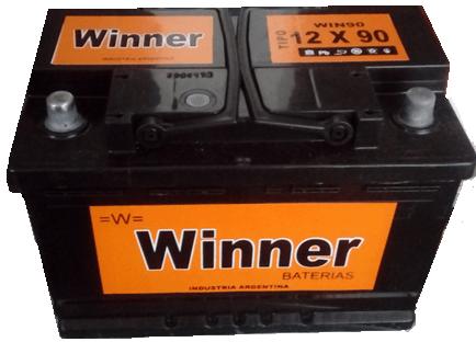 Bateria Winner 12×90